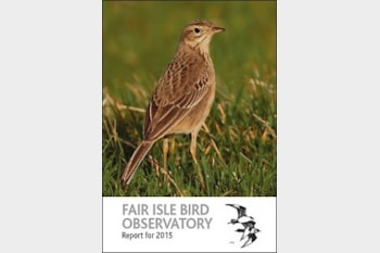 Fair Isle Bird Observatory Report for 2015