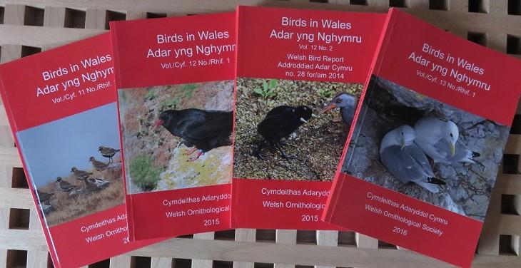 Welsh Bird Report 2015