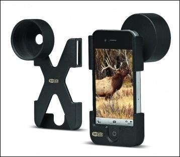 Meopix iPhonescoping adaptor