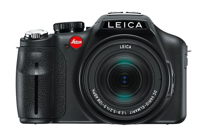 Leica V-Lux 3 camera with fixed 4.5-108 mm f2.8-f5.2 lens.
