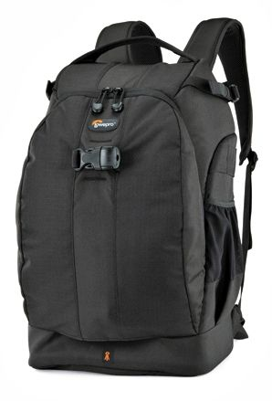 Lowepro Flipside 500 AW camera bag.