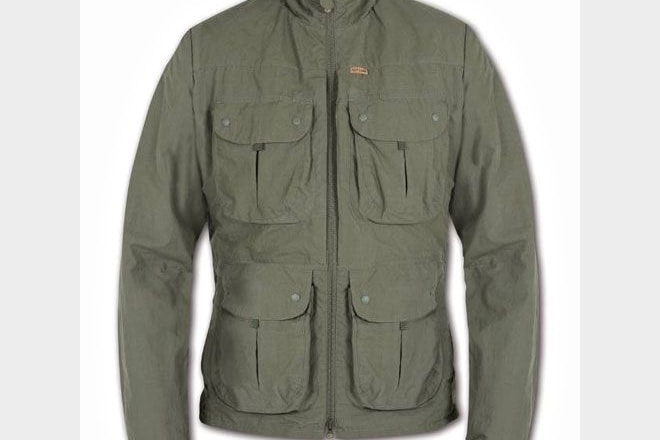 Paramo's Halcon Traveller jacket has 12 handy pockets, making it ideal for storing all kinds of birding equipment.
