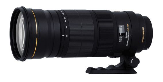Sigma's new 120-300 mm F2.8  EX DG OS lens.