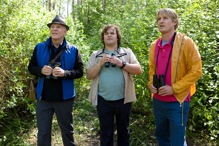 Steve Martin, Jack Black and Owen Wilson in The Big Year