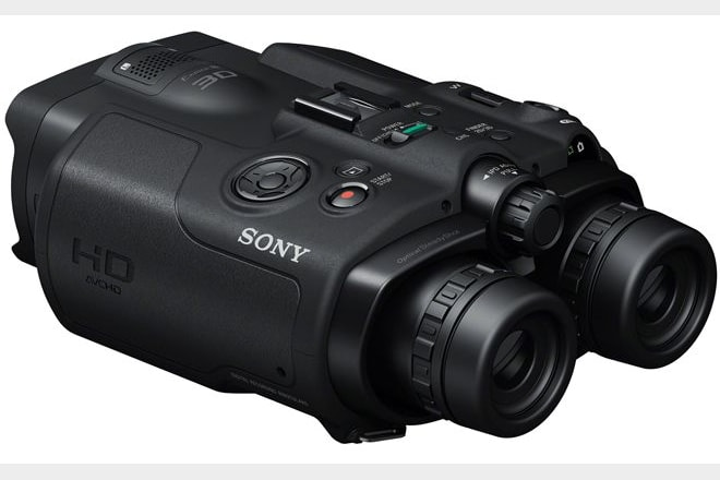 Sony DEV-5 digital recording binocular - could this product change the way we watch and photograph birds?