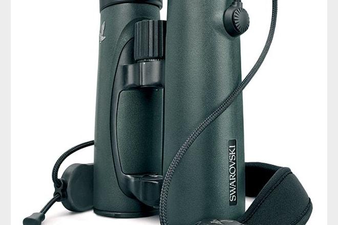 Swarovski's EL range of binoculars now benefits from some well-designed accessories like this neckstrap.