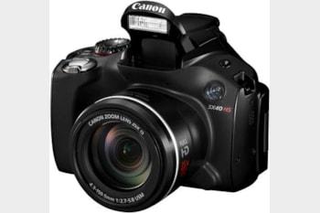 The Canon PowerShot SX40 HS Superzoom.