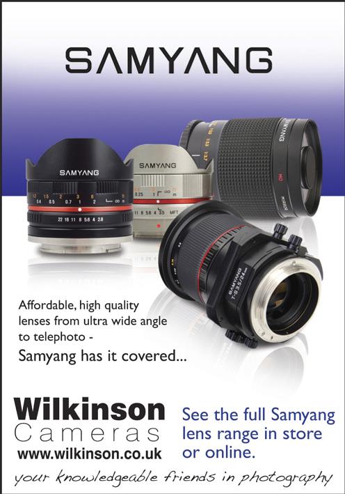 Samyang Wilkinson Cameras ad