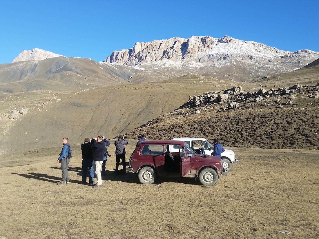 Azerbaijan landscape (Nils van Duivendijk, courtesy of Birding Breaks)