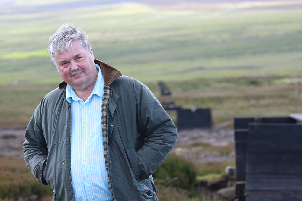 Birdwatch columnist Mark Avery was Conservation Hero of the Year in 2016.