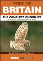 Birds of Britain Checklist 4th Edition