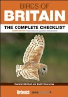 Birds of Britain Checklist 4th Edition