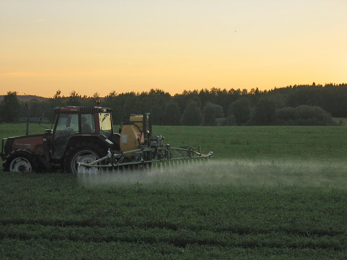 Intensive farming practices are harming the environment.