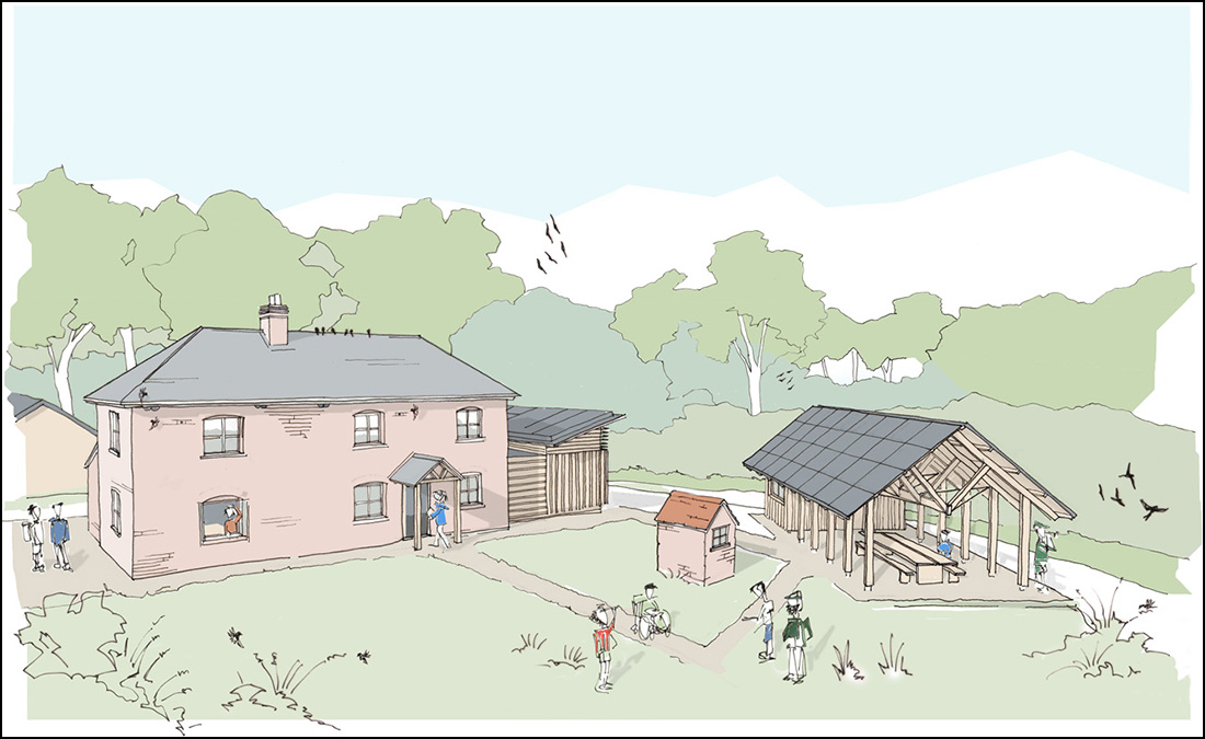 An architect's impression of how the finished project will look (Moorhouse Architecture).