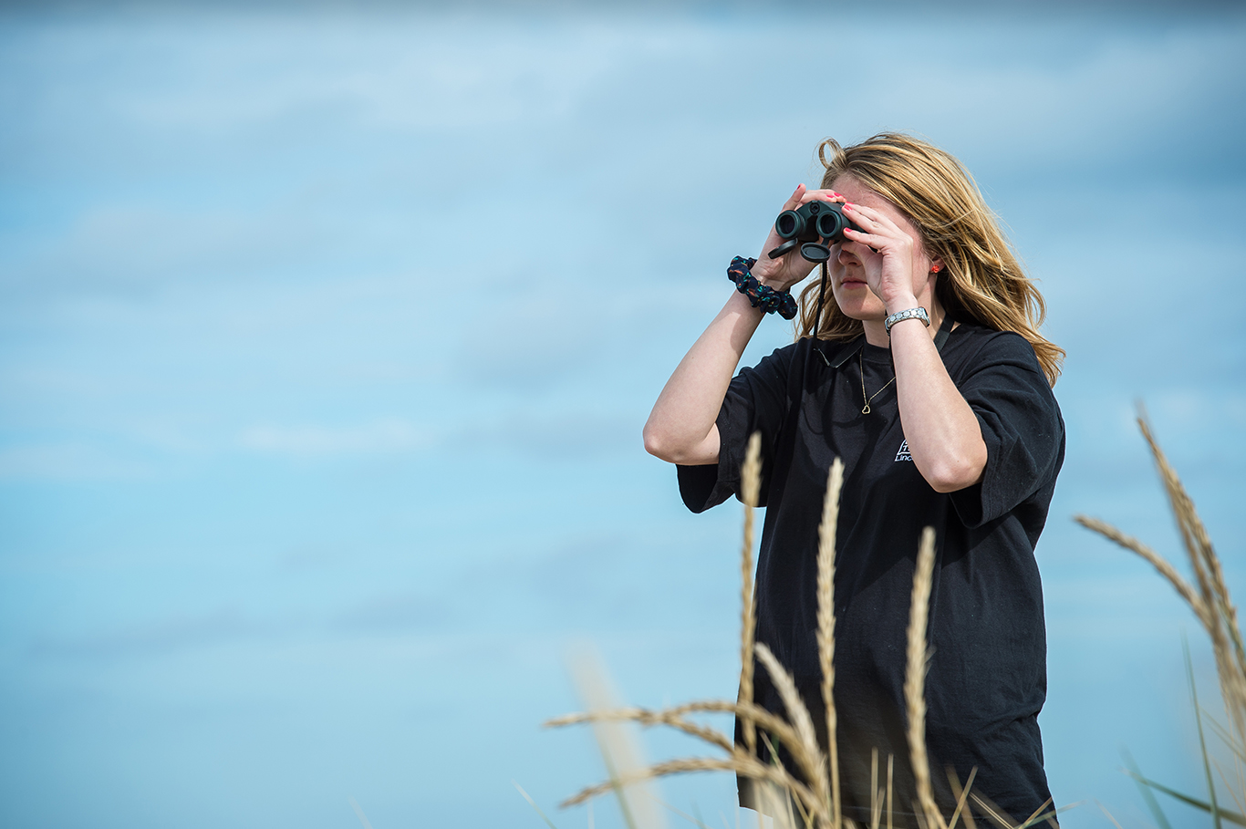 Watching wildlife has been shown to increase happiness (Photo: Matthew Roberts).