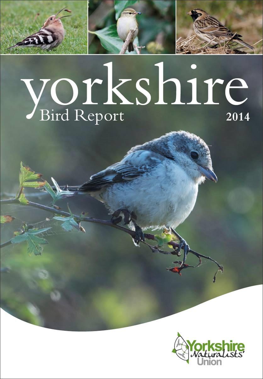 Yorkshire Bird Report 2014 - BirdGuides
