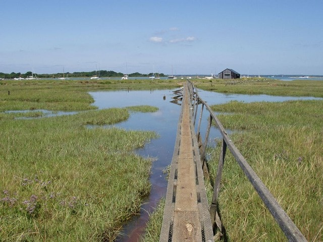 Footbridge to Newtown Quay