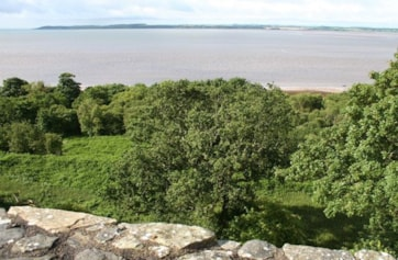Wigtown Bay from Carsluith Castle.