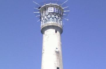 Bishop Rock Lighthouse.