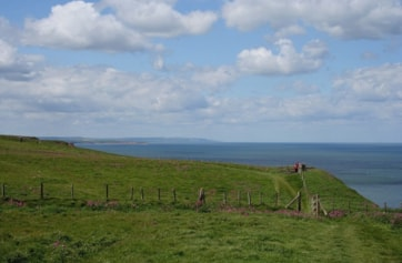 View north towards Filey.
