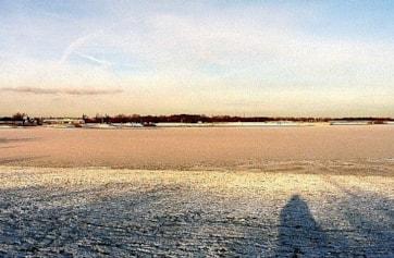 Main lake at Pugneys before January snow.