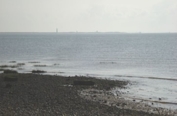 Spurn Point from the Canal Zone.