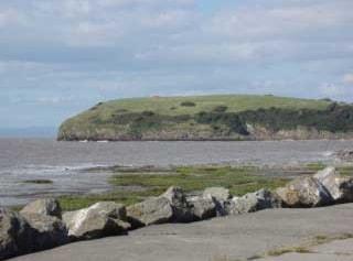 Wain's Hill from coastal path