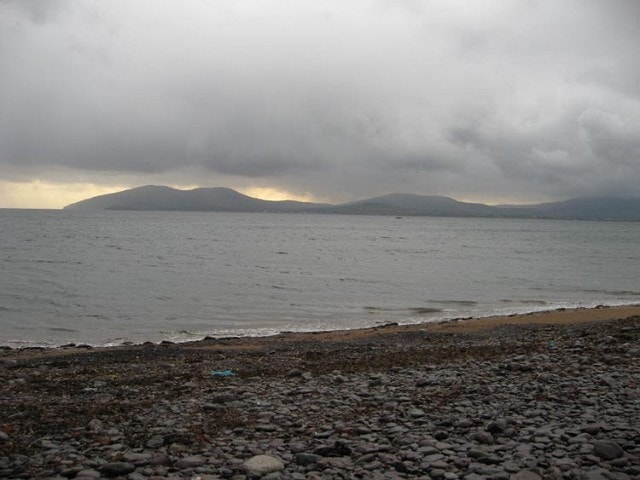 The seafront at Waterville.