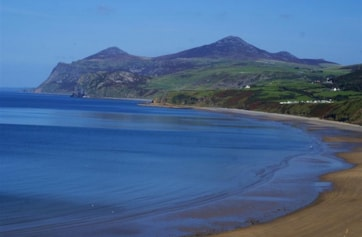 Nefyn bay facing the Rivals.
