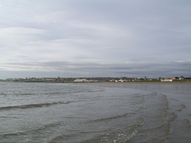 Viewed from the South Bents beach.