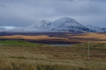 The Paps of Jura viewed from near Port Askaig, Islay.