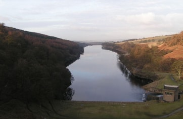 From the dam of Errwood Reservoir.