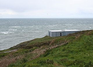 This heavy concrete structure offers little protection if there's a northerly blowing