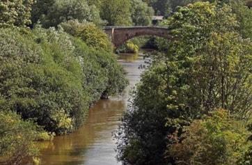 Stamford Bridge and the River Derwent.