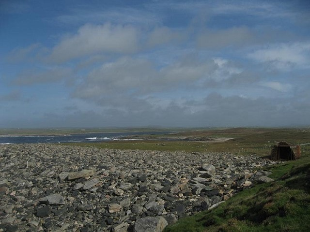 Looking inland from Annagh Head.