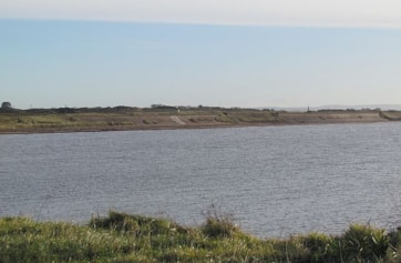 Looking south from Stevenston Point.