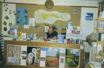 The old visitor centre pre 2000.