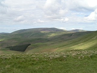 From Windy Gyle (looking northeast).