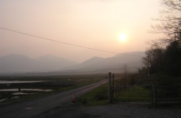 Sunrise in Pennyghael.