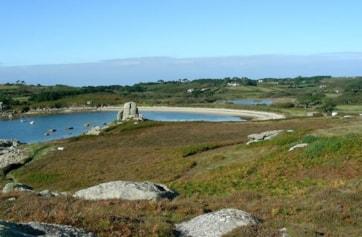 Porthellick Bay.