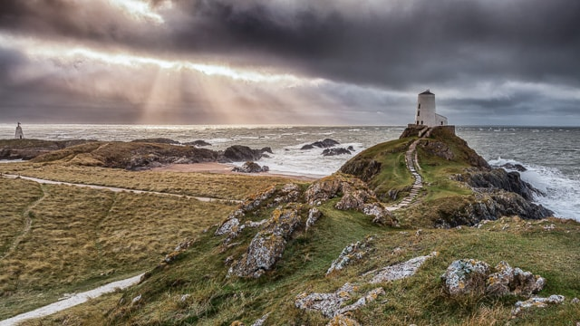 Only reachable on foot at low tide, this tiny little island on the southern tip of Anglesey is a gem of Welsh natural beauty and the visit to the lighthouse should be on your itinerary when you go spotting out there for the local wildlife.