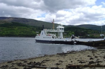 Loch Linnhe and the Corran Ferry.