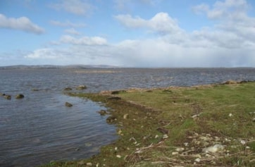 Lough Corrib from Angilham Marble Quarries.