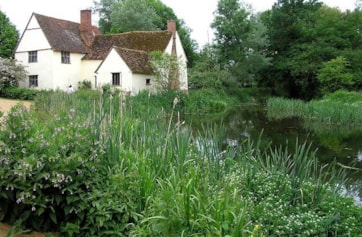 Willy Lots Cottage, Flatford Mill.