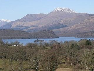 Ben Lomond and Loch Lomond National Park.