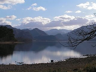 View looking south from near Keswick