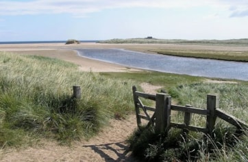 Long Nanny and Beadnell Bay.