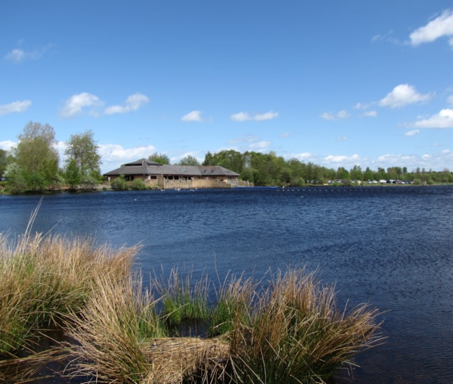 Lochend Loch, looking towards Visitor Centre.