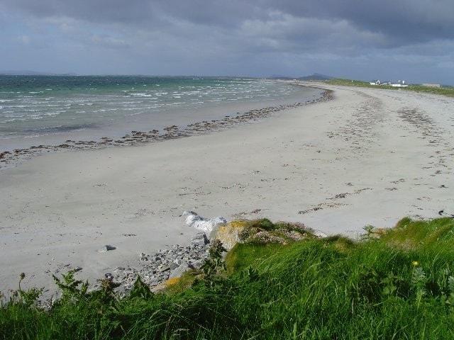 Beach at Aird a'Mhachair.