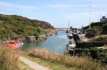 Amlwch Port at high tide.
